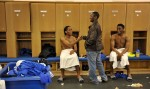 The Diary of a Football Player: The Dressing Room