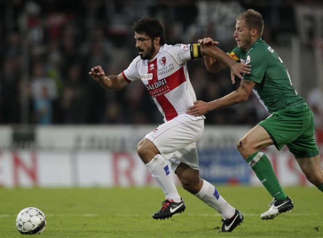 Dzengis Cavusevic (right) vs. Genarro Gattuso