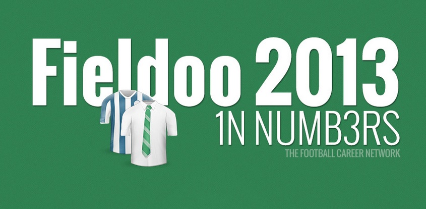 INFOGRAPHIC: Fieldoo Year 2013 In Numbers