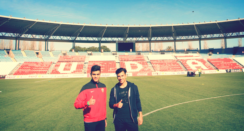 Interview with UD Almeria Academy Players Ishan and Mariano