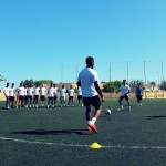 UD Almeria coach with first instructions
