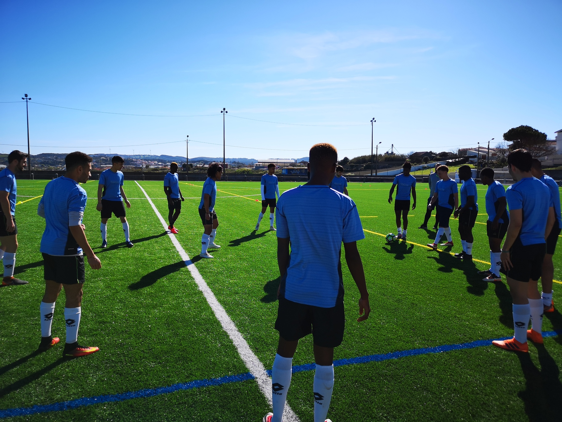 Football Trial in Valencia (Spain): 25. November – 7. December 2018